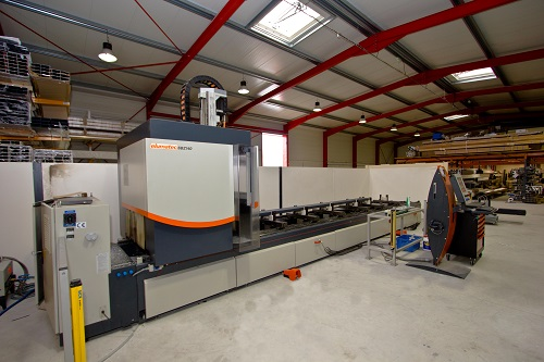 centre usinage 4 axes Elumatec SBZ 140