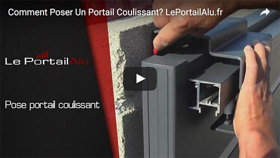 Installer un protail coulissant